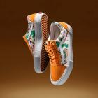 Buty sportowe w kwiaty